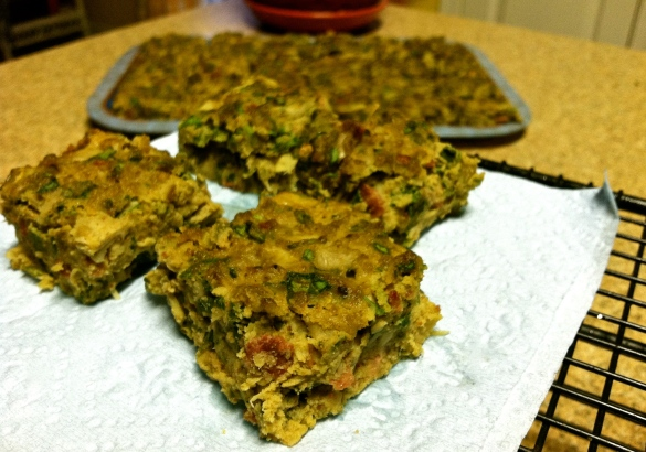 Spinach and Artichoke Bars (Grain Free)