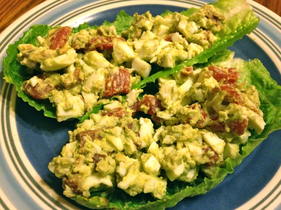 BLT and Avocado Egg Salad (Paleo)
